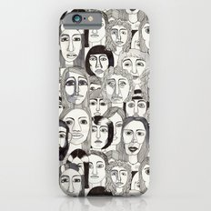 Faces in the Tube Slim Case iPhone 6s