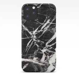 Vintage Black Marble iPhone Case