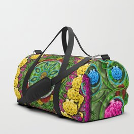 Bohemian chic in fantasy style Duffle Bag