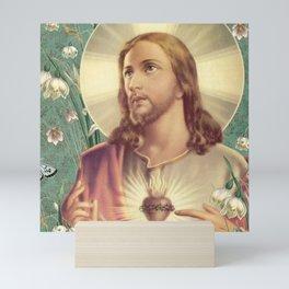 Sacred Heart of Jesus Christ Mini Art Print