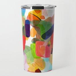 Sketch time - aquarela texture Travel Mug