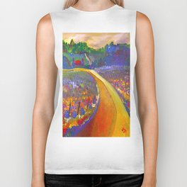 The Road to Chateau Chantal Biker Tank
