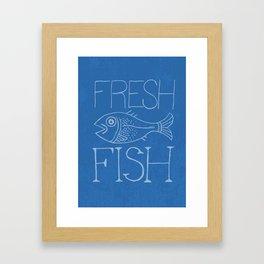 Fresh Fish Framed Art Print