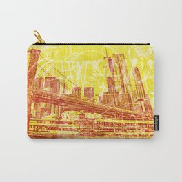 big yellow apple Carry-All Pouch