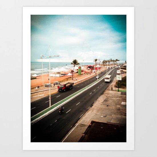 Salvador / Brazil Art Print