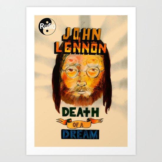 lennon dream Art Print