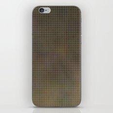 Pixels Green iPhone & iPod Skin