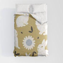 Spring Bunnies Comforters
