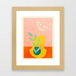 Pustekuchen/ fiddlessticks Framed Art Print