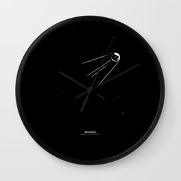 SPUTNIK 1 Wall Clock