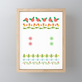 Fa-La-La-La Valhalla-La Viking God Ugly Christmas Framed Mini Art Print
