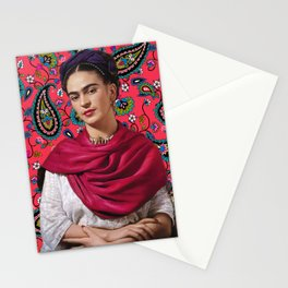 Frida Paisley Stationery Cards