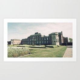 Manor Facade Art Print