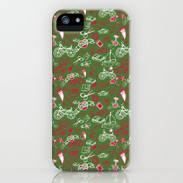 Traditional Medley - Christmas iPhone Case