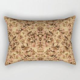 Vintage Sweet Peas Photographic Pattern #2 Rectangular Pillow