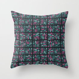 geometric colorful3 Throw Pillow