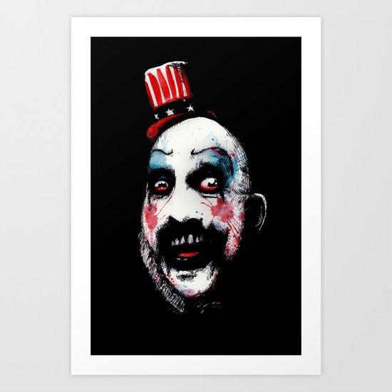 Super Secret Clown Business Art Print