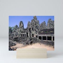 Bayon Temple Angkor Thom Siem Reap Cambodia Mini Art Print