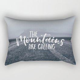 To the Mountain Rectangular Pillow