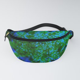 Blue and Green Sumac Bloom Fanny Pack