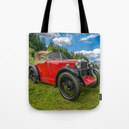 Arriving In Style Tote Bag