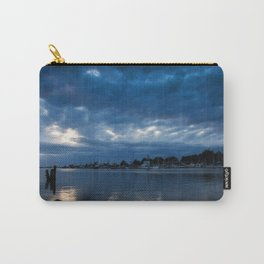 Shades Of Blue Carry-All Pouch