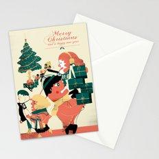 CHRISTMAS POSTCARD Stationery Cards