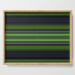 Apple Grape Rag Weave I by Chris Sparks Serving Tray