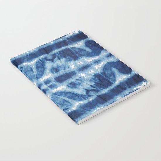 Tie Dye Blues Twos Notebook