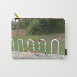 Knitted Worm Carry-All Pouch