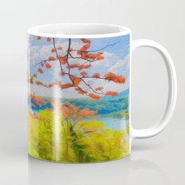 Fire Tree - Digital Manipulation Coffee Mug