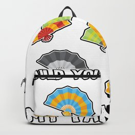 Would you like to join my fan club? Backpack