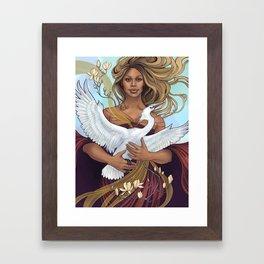 Laverne Framed Art Print