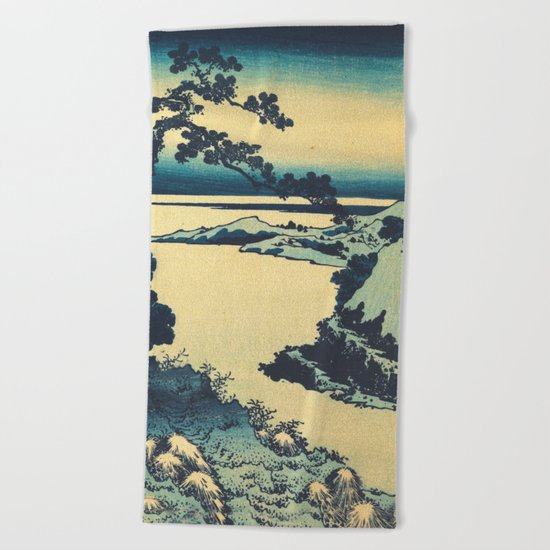 Looking Right at Hine Beach Towel