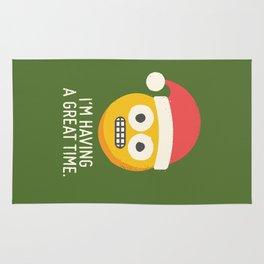 White Knuckle Christmas Rug