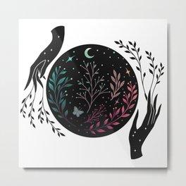 Full Moon Garden Metal Print
