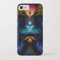 stargate iPhone & iPod Cases featuring Stargate Fractal Abstract by BohemianBound