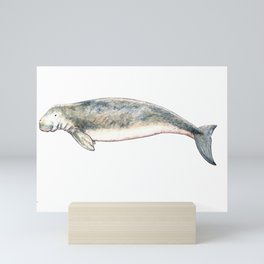 Dugong Mini Art Print