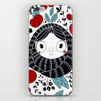 carpe diem iPhone & iPod Skins featuring Carpe diem by martuka