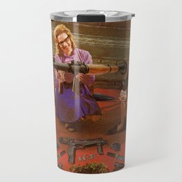 Aunt Daisy's Tea Party Travel Mug