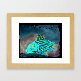 Cirrus/ Cardinal fish Framed Art Print