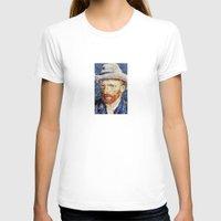 van gogh T-shirts featuring Van Gogh  by klausbalzano