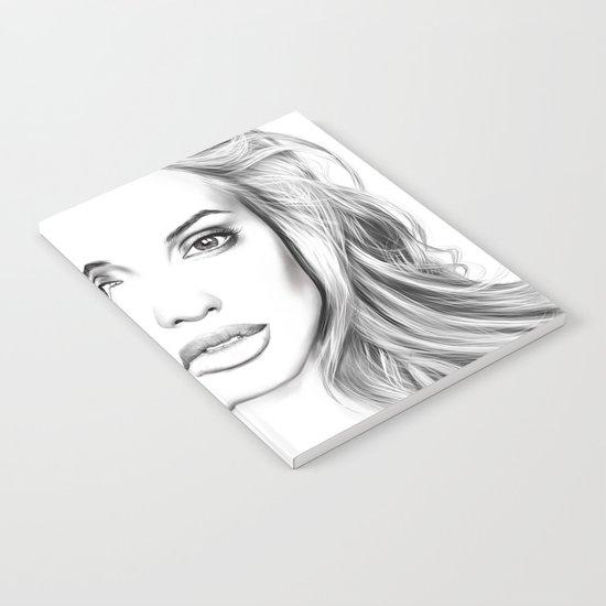 Angelina Jolie fanart Notebook