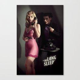The Long Sleep Canvas Print