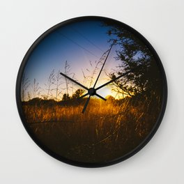 Last Light Wall Clock