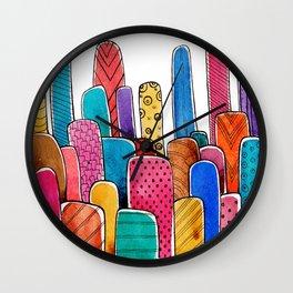 FunTown Wall Clock