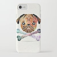 pug iPhone & iPod Cases featuring pug by Manoou