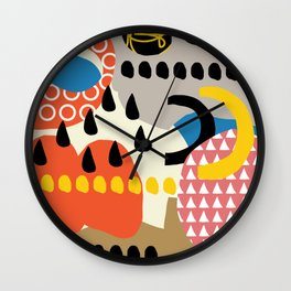 The sorcery of color n° 1 Wall Clock