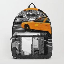 NYC - Yellow Cabs - FlatIron Backpack