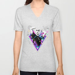 Heart Of Glass - Kris Tate x Ruben Ireland Unisex V-Neck